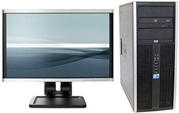 HP ELITE 8000 TOWER INTEL CORE 2 DUO - 3.0GHZ 19 INCH LCD MONITOR, KEYBOARD & MOUSE WIN 7 PRO