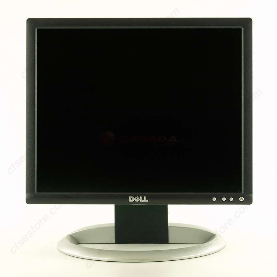 USED DELL 17 INCH LCD FLAT PANEL SQUARE MONITOR RES.1280 X 1024 VGA