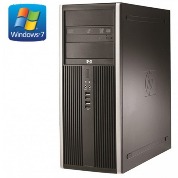 HP ELITE 8000 TOWER INTEL CORE 2 DUO - 3.0GHZ 3MB 2GB DDR3 250GB HDD WIN 7 PRO